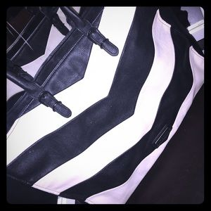 Steve Madden striped tote purse